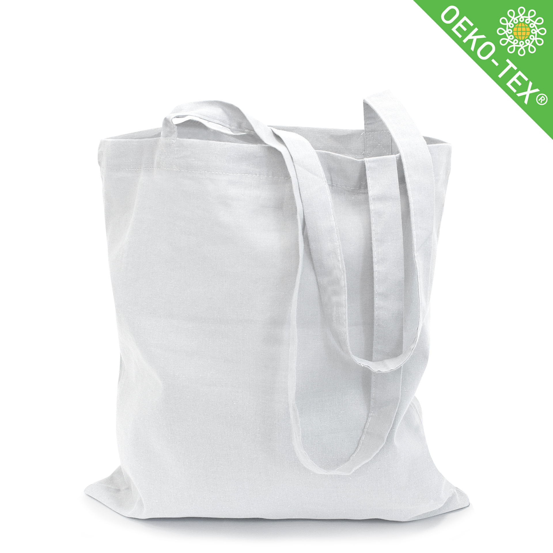 21_Riad_2,Baumwolltasche mit langen Henkeln, Farbe: weiß